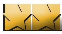 Sterne-2-Gold