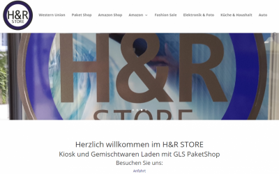 HR STORE KIOSK Neuenburg – Haushaltswaren und Restposten