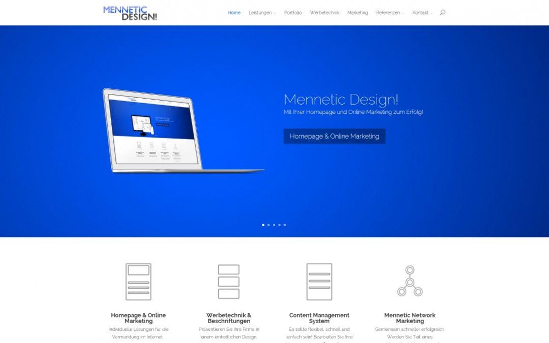 Mennetic Design Werbeagentur für Homepage, Online, Print Werbeartikel – Marketing