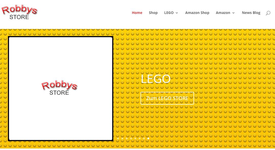 Robbys Store – Lego, Holzspielzeug, Spielwaren, Dekorationsartikel, Schreibwaren